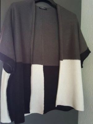 Janina Short Sleeve Knitted Jacket multicolored