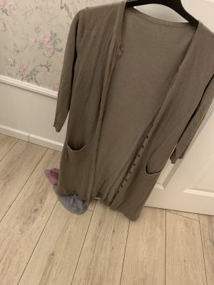 H&M Long Jacket khaki
