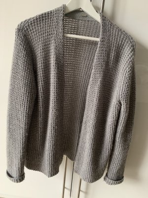 Coarse Knitted Jacket grey