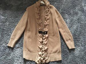 Betty Barclay Chaqueta larga marrón arena-marrón claro Algodón
