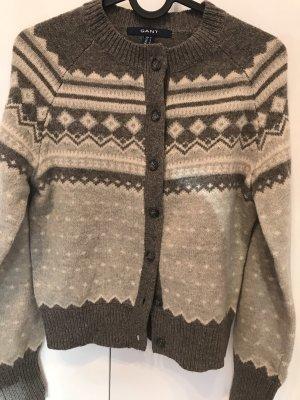 Strickjacke aus Lamm-Wolle GANT Gr. S