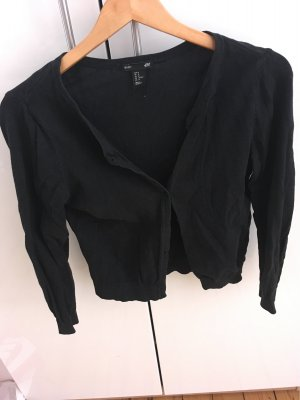 H&M Fleece jack zwart