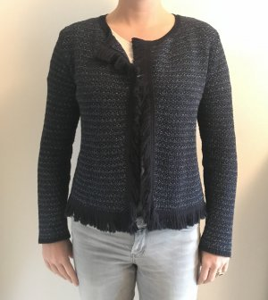 Strickjacke blau - 123 Paris