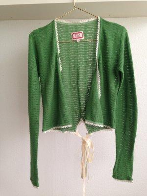 Strickjacke Bolero von Avoca grün Größe 0/XS/34
