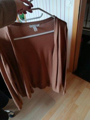 H&M Cárdigan de manga corta multicolor Algodón