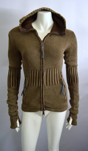 Strickjacke Brown 100% Cotton Used