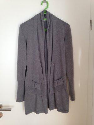 Brunello Cucinelli Veste en tricot gris