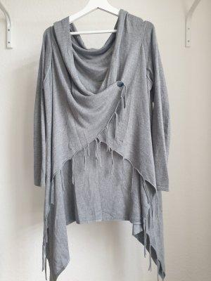Wraparound Jacket light grey
