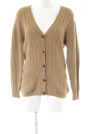 Strickjacke camel Casual-Look