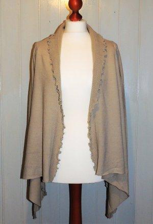 Vivance Knitted Cardigan sand brown-beige polyamide