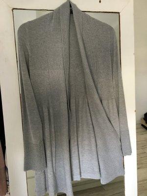 Strickjacke Cardigan Grau Orsay