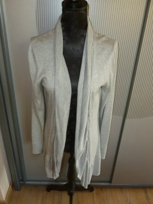 Strickjacke Cardigan grau Tom Tailor