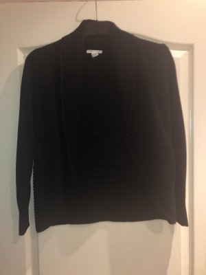 Strickjacke / Cardigan in schwarz