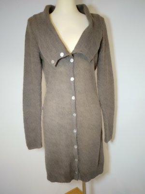 Promod Cardigan in maglia marrone chiaro Lana
