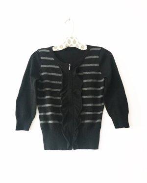 strickjacke • cardigan • vintage • bohostyle • romanticlook • schwarz