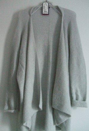 Strickjacke Cardigan  von Tom Tailor  - hellgrau - Gr. XL