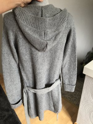 Clockhouse Knitted Coat grey-light grey