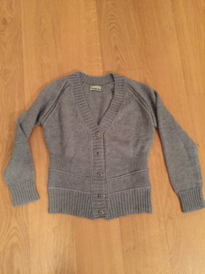 Strickjacke Closed L grau