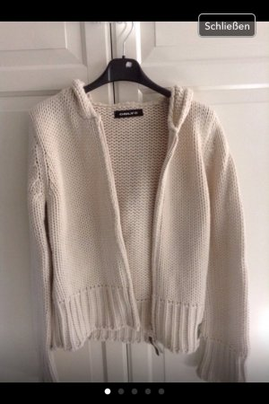 Strickjacke / Creme / Gr. M / ONLY