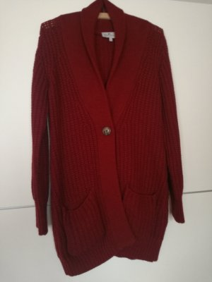 Blue Motion Cardigan dark red