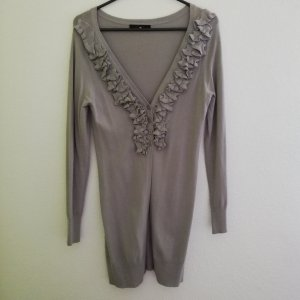Giacca di lana grigio Tessuto misto