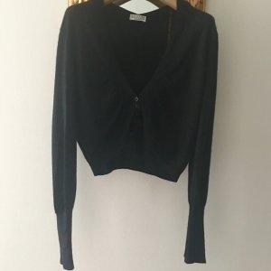 Brunello Cucinelli Knitted Cardigan black cashmere