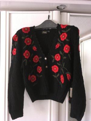 Apart Fashion Folkloristische jas zwart-rood