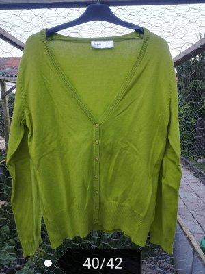 b.p.c. Bonprix Collection Cardigan lime yellow-grass green