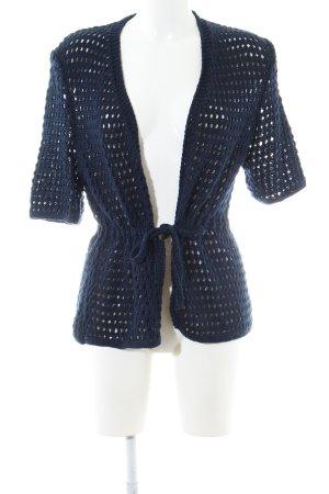 Strickjacke dunkelblau Casual-Look
