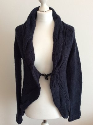 Strickjacke dunkelblau Tom Tailor Denim Gr. M