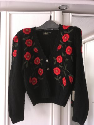Apart Fashion Wool Jacket black-red
