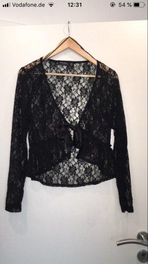 Blind Date Boléro en tricot noir