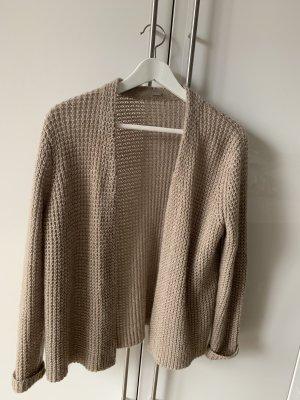 Coarse Knitted Jacket beige