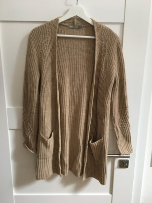 Asos Coarse Knitted Jacket camel