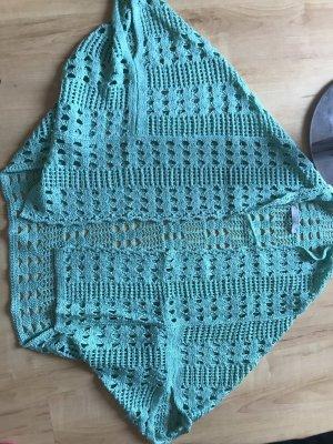 Crochet Cardigan turquoise