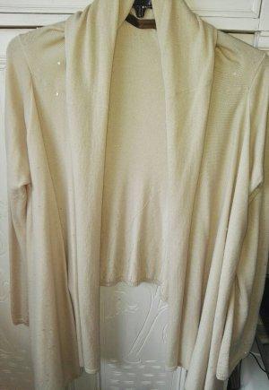 Fenn Wright Manson Knitted Wrap Cardigan cream