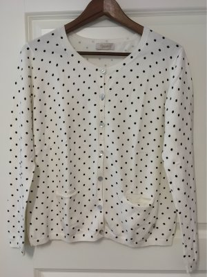Carnabys Knitted Cardigan natural white-black