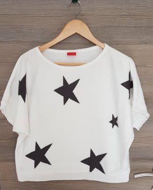 Zabaione Knitted Jumper white-black
