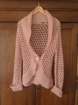 Strickjacke Gr. XL von Esprit in rosa