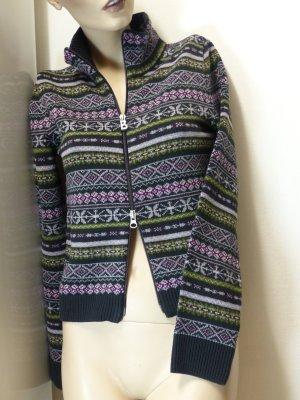 Bogner Fire + Ice Veste en tricot multicolore tissu mixte
