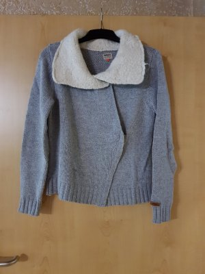 Tom Tailor Coarse Knitted Jacket light grey