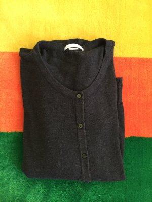 Strickjacke grau 3 x getragen