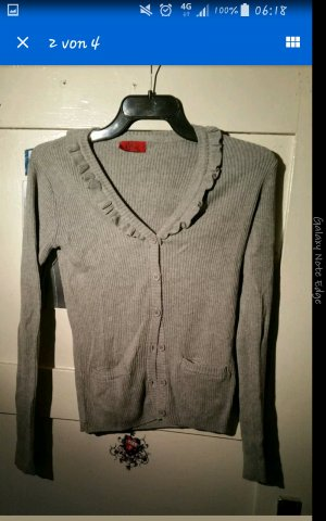 Strickjacke  grau 32/ 34 Xs