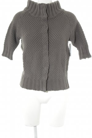 Strickjacke grau Casual-Look