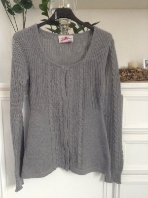 Strickjacke / grau / Gr. 32/34 / Joe Browns