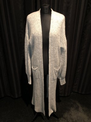 Made in Italy Knitted Coat light grey-grey