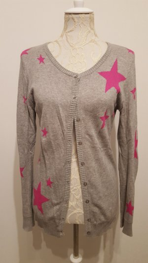 b.p.c. Bonprix Collection Cardigan light grey-pink