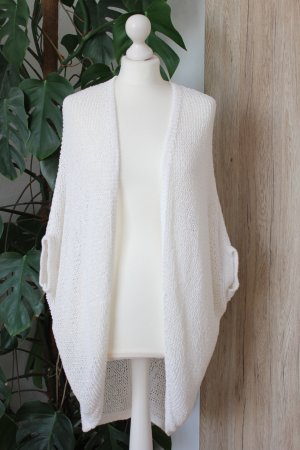 Street One Coarse Knitted Jacket natural white-cream