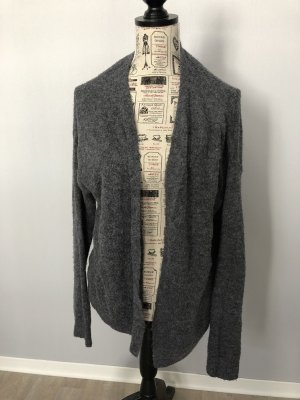 Strickjacke H&M basic Gr. S grau