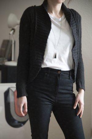 Strickjacke H&M – schwarz